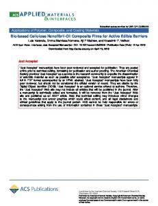 Biobased Cellulose Nanofibril–Oil Composite Films for Active Edible