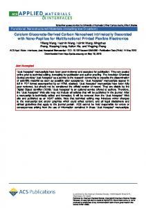 Calcium Gluconate Derived Carbon Nanosheet Intrinsically Decorated