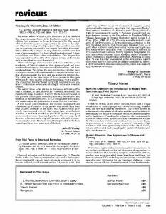 Heterocyclic chemistry, (Gilchrist, TL)
