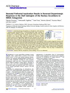 Research results pdf free download neonatal prefrontal inactivation results in reversed dopaminergic fandeluxe Gallery