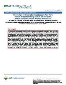 New Insight of Ethylenediaminetetraacetic Acid Tetra Sodium Salt as