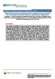 Osteoinductivity of Porous Biphasic Calcium Phosphate Ceramic