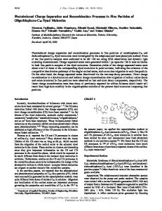 improving optical and charge separation properties of pdf free