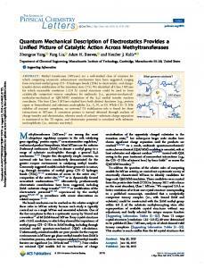 Quantum Mechanical Description of Electrostatics Provides a Unified