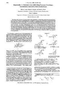 Quassinoids. 2. Synthesis of an ABCD Ring Precursor Involving a