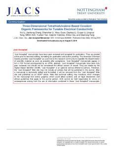 Three-Dimensional Tetrathiafulvalene-Based Covalent Organic